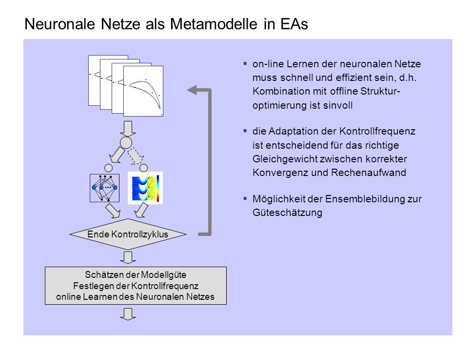 Neuronale Netze als Metamodelle in EAs