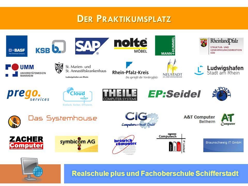 Der Praktikumsplatz Realschule plus und Fachoberschule Schifferstadt