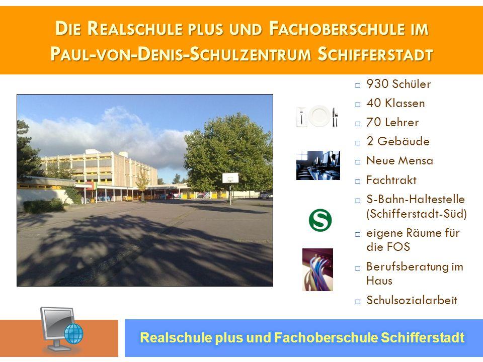 Die Realschule plus und Fachoberschule im Paul-von-Denis-Schulzentrum Schifferstadt
