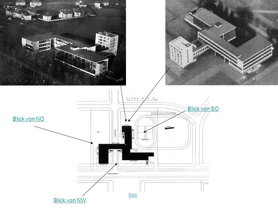 Bauhausgebäude Übersicht