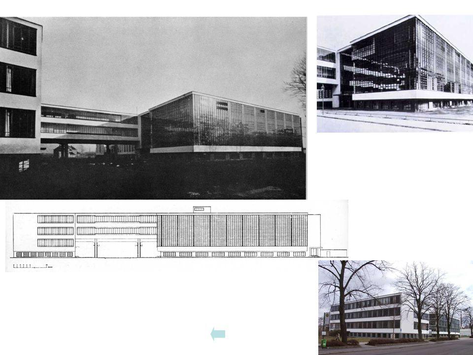 Bauhausgebäude von NW