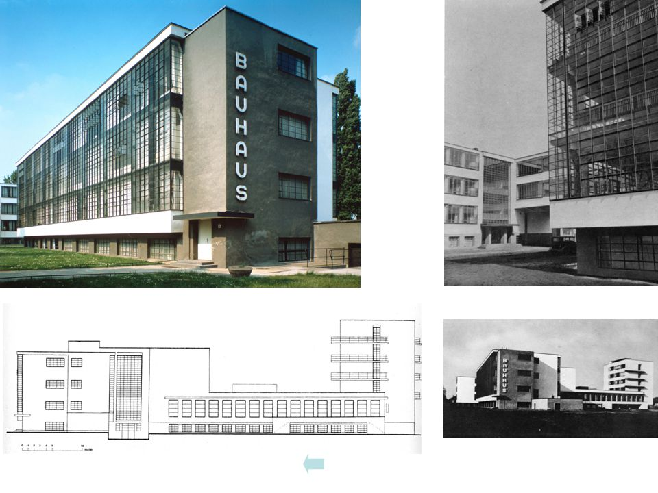 Bauhausgebäude von NO