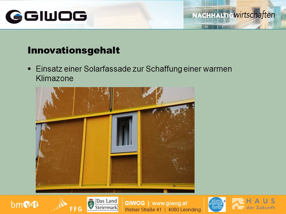 Ausgangslage Innovationsgehalt