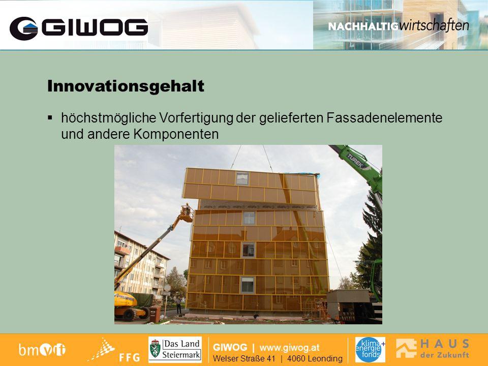 Ausgangslage Innovationsgehalt