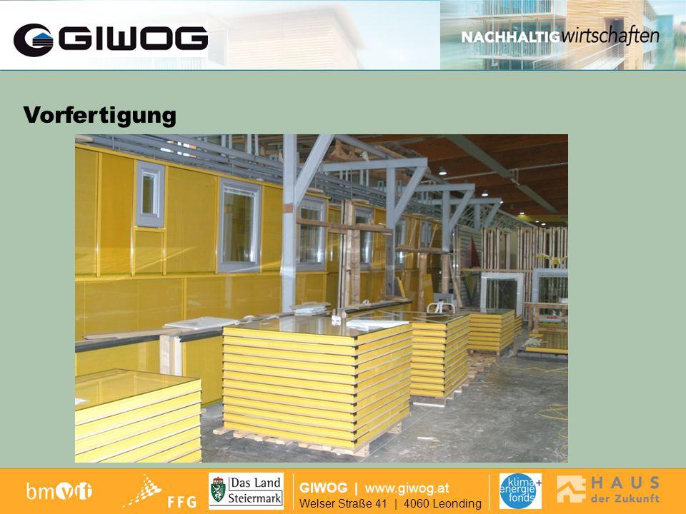 Finanzierung Vorfertigung GIWOG | www.giwog.at
