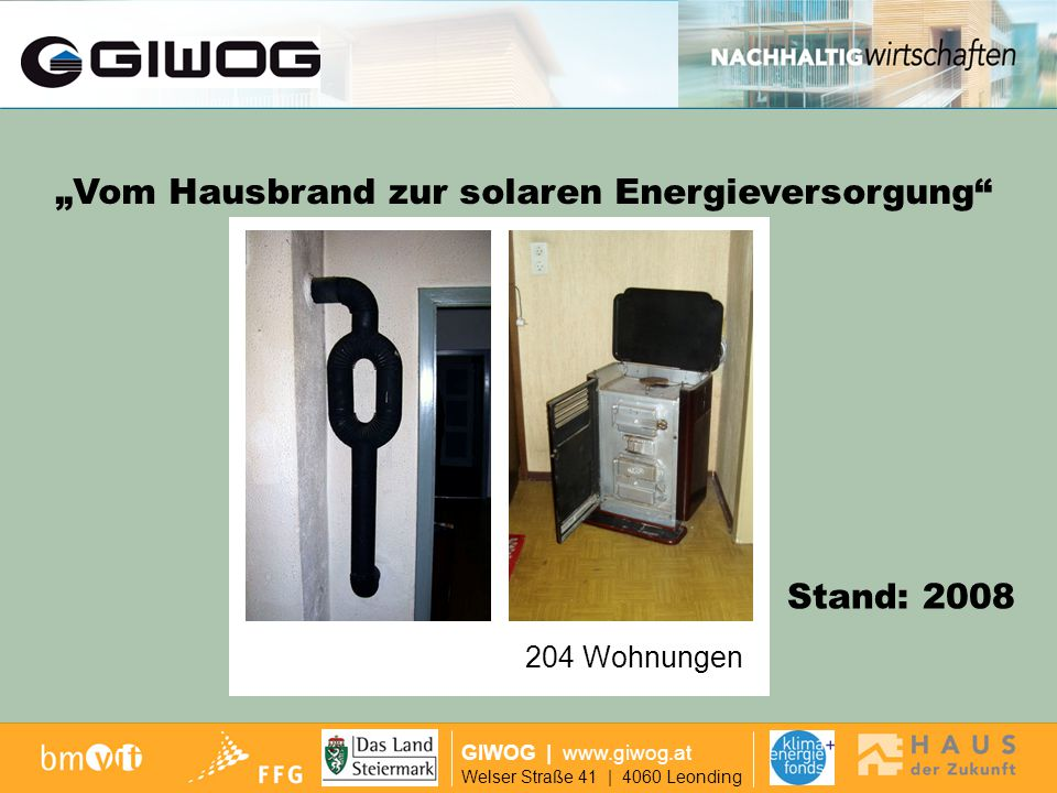 """""""Vom Hausbrand zur solaren Energieversorgung"""