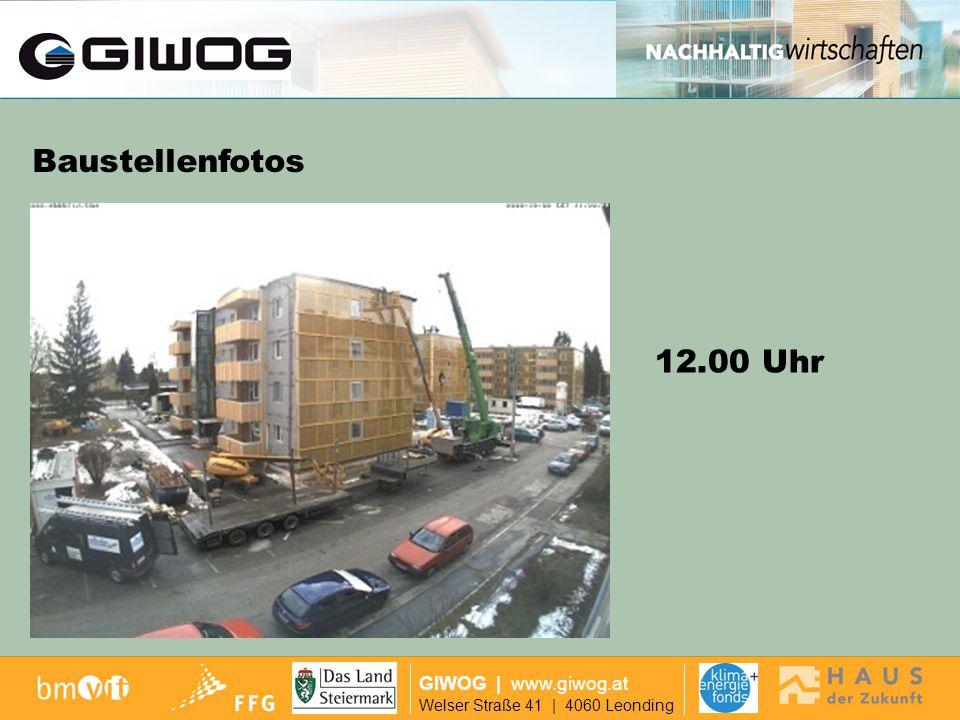 Finanzierung Baustellenfotos 12.00 Uhr GIWOG | www.giwog.at