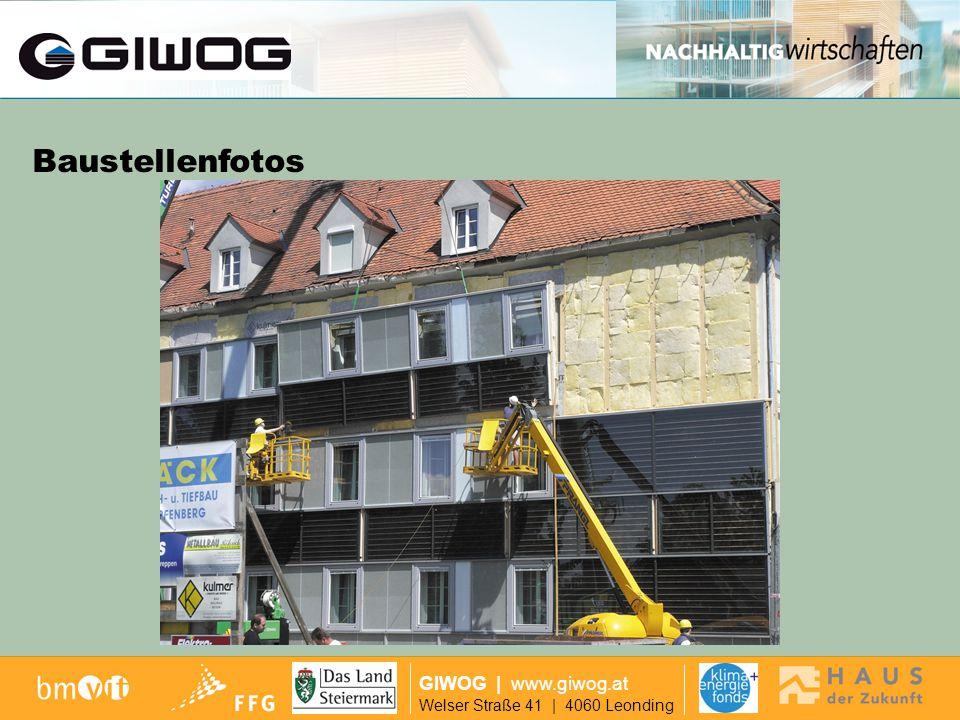 Finanzierung Baustellenfotos GIWOG | www.giwog.at