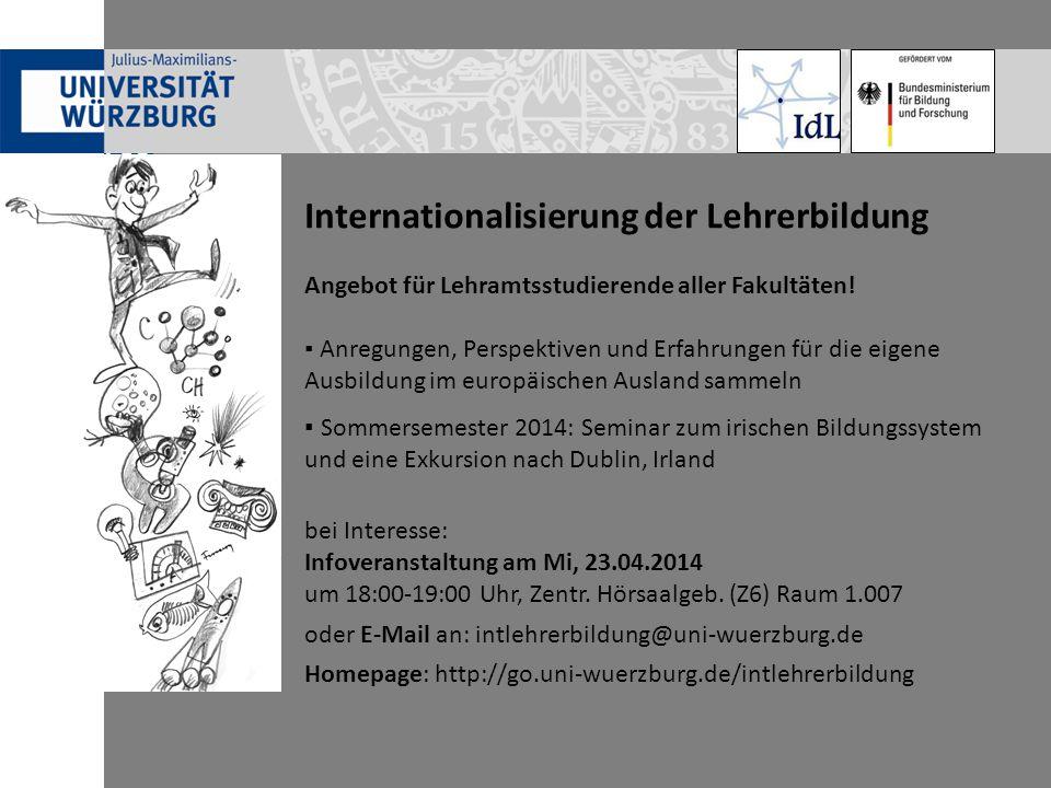 Internationalisierung der Lehrerbildung