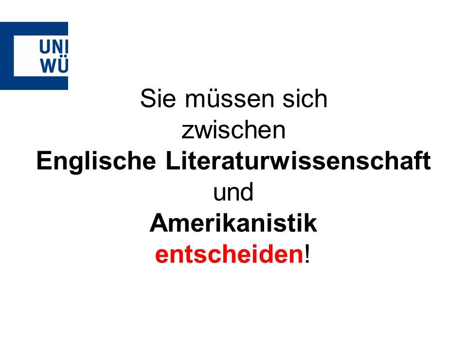Englische Literaturwissenschaft