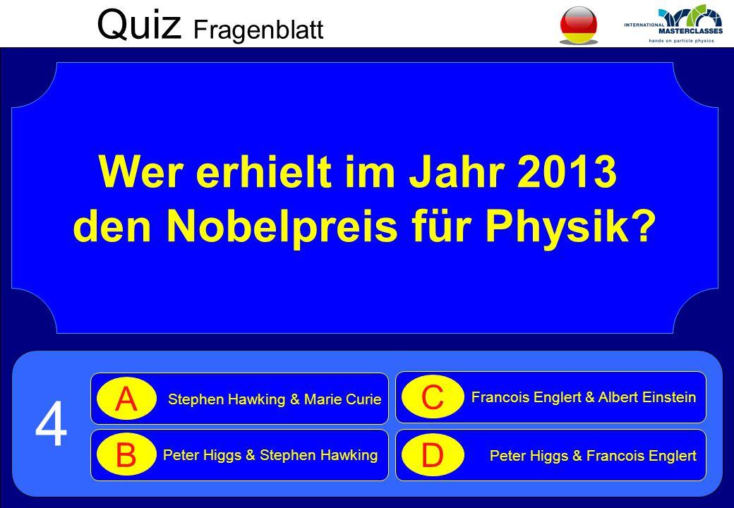 den Nobelpreis für Physik