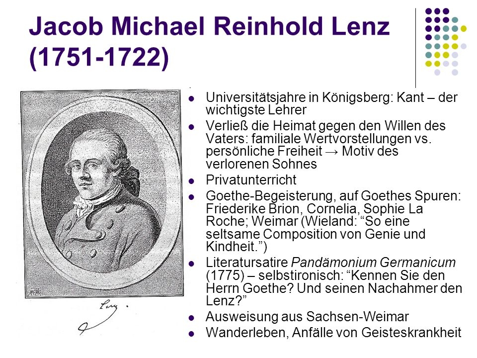 Jacob Michael Reinhold Lenz (1751-1722)