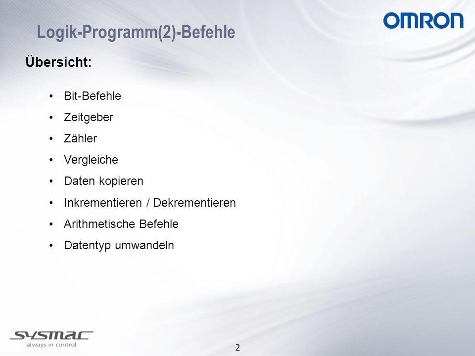 Logik-Programm(2)-Befehle