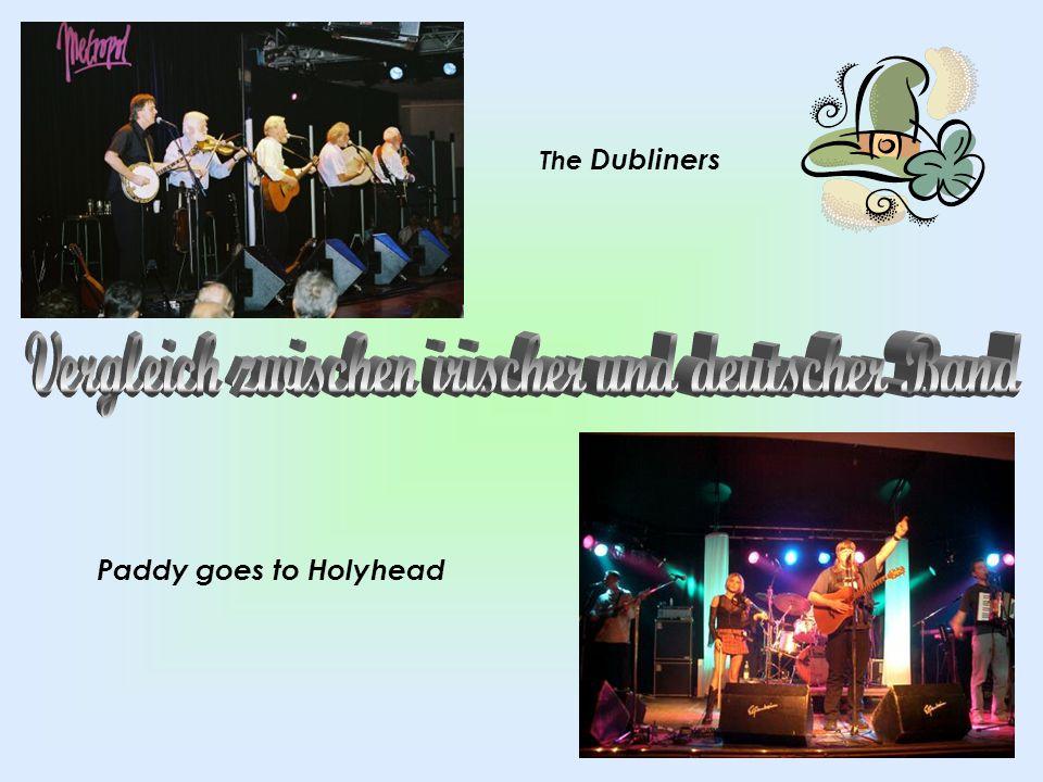 Vergleich zwischen irischer und deutscher Band