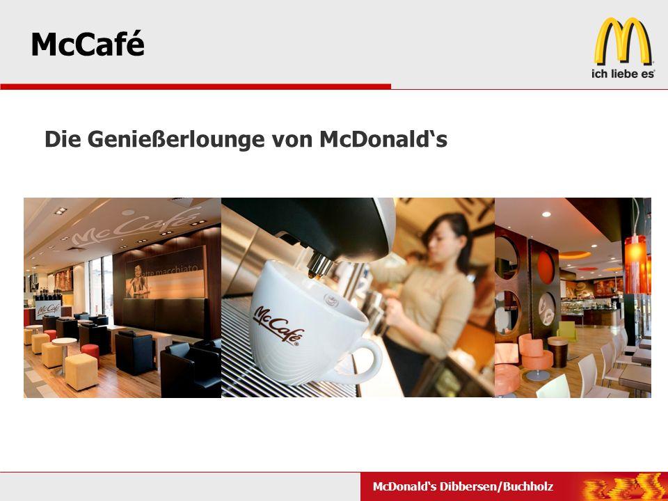 McCafé Die Genießerlounge von McDonald's McCafé-Design