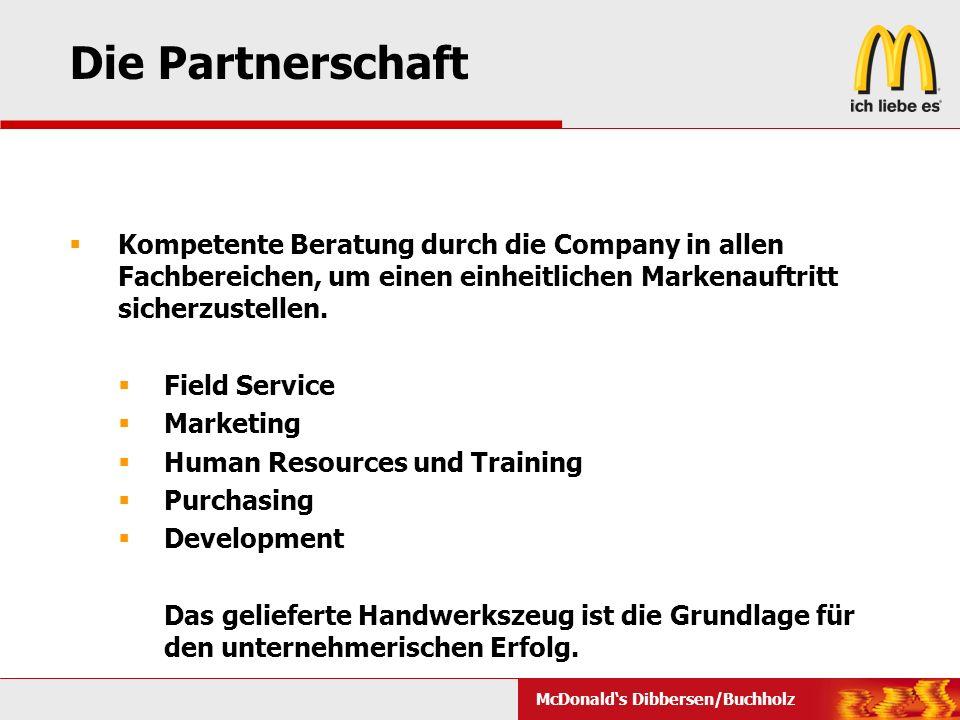 Die Partnerschaft Kompetente Beratung durch die Company in allen Fachbereichen, um einen einheitlichen Markenauftritt sicherzustellen.