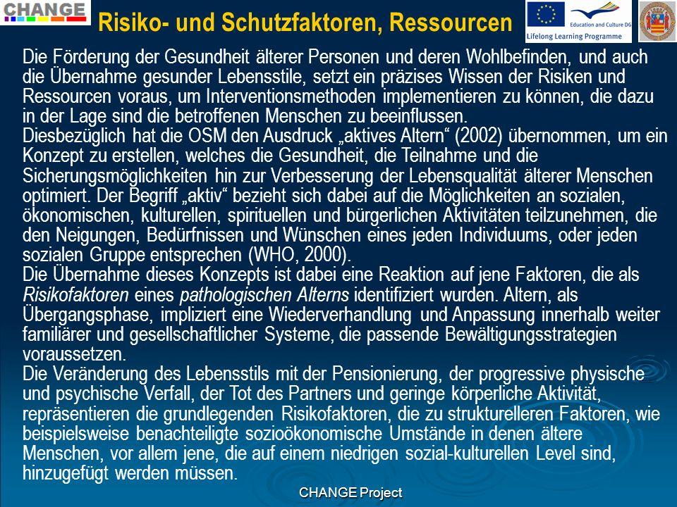 Risiko- und Schutzfaktoren, Ressourcen