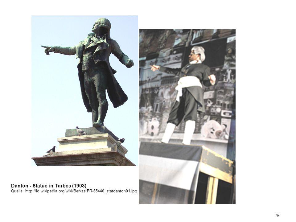 Danton - Statue in Tarbes (1903)