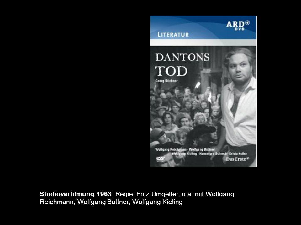 Studioverfilmung 1963. Regie: Fritz Umgelter, u. a