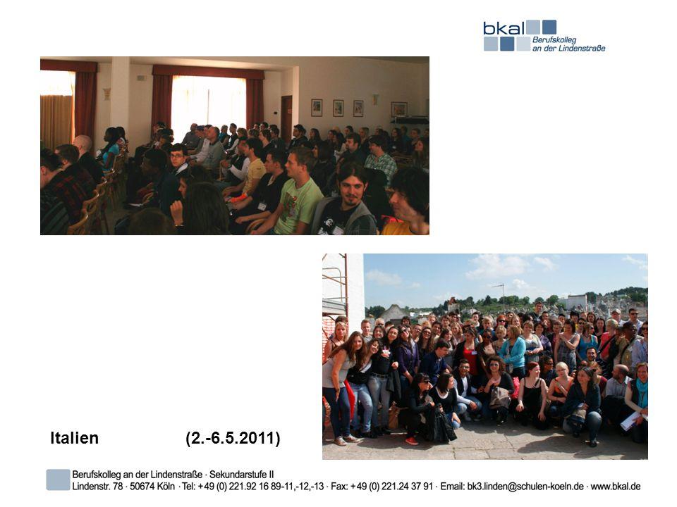 Italien (2.-6.5.2011)