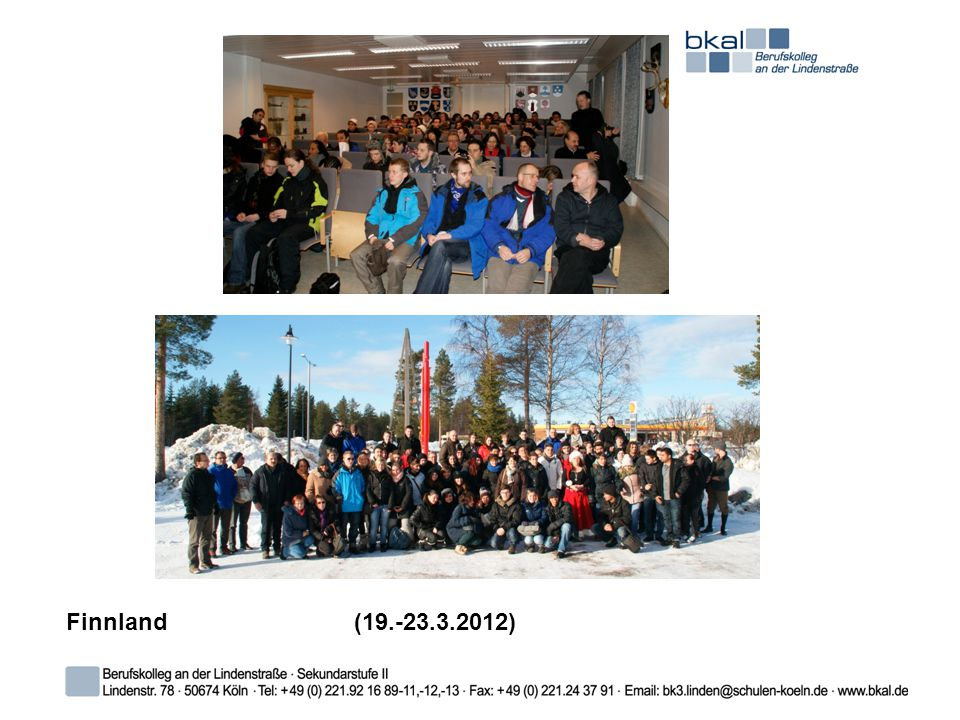 Finnland (19.-23.3.2012)