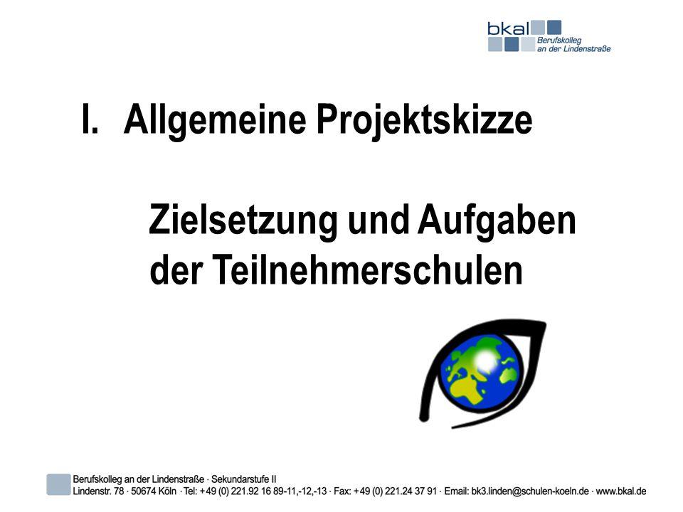 Allgemeine Projektskizze