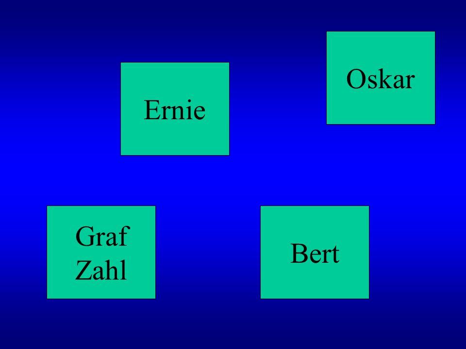 Oskar Ernie Graf Zahl Bert