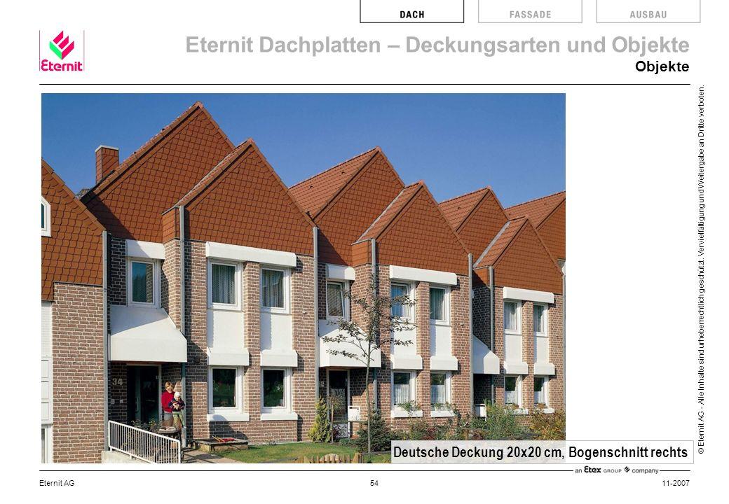 Deutsche Deckung 20x20 cm, Bogenschnitt rechts
