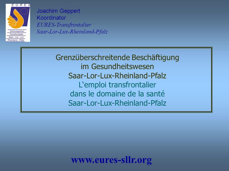 www.eures-sllr.org Grenzüberschreitende Beschäftigung