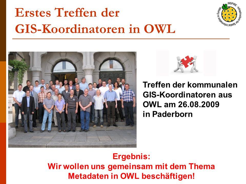 Erstes Treffen der GIS-Koordinatoren in OWL