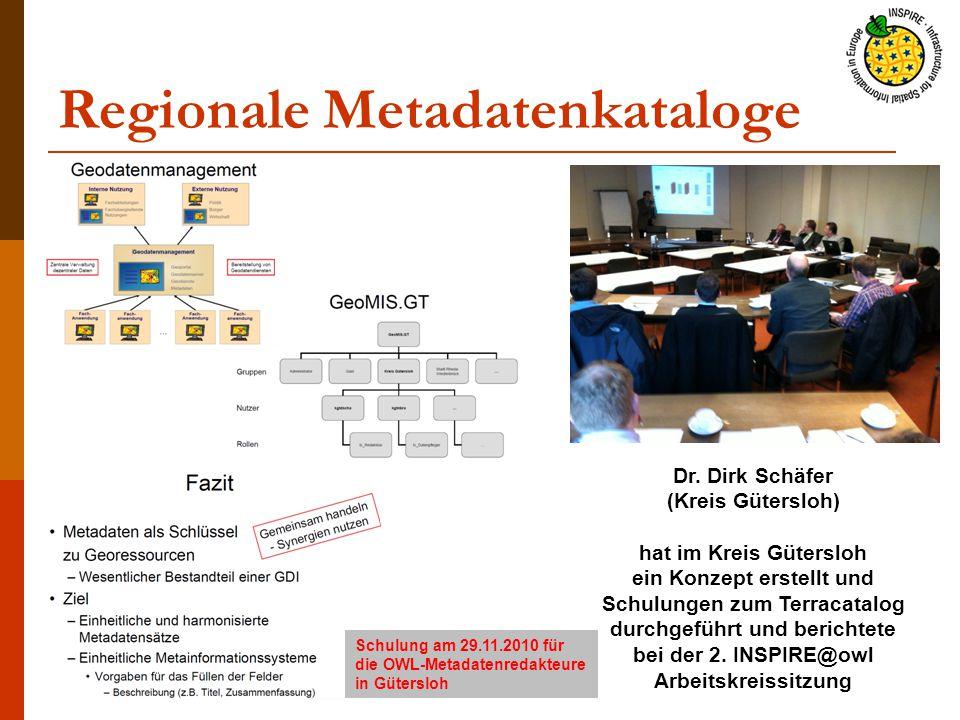 Regionale Metadatenkataloge