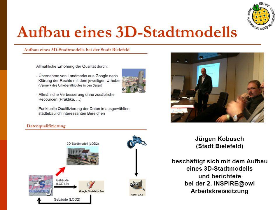 Aufbau eines 3D-Stadtmodells