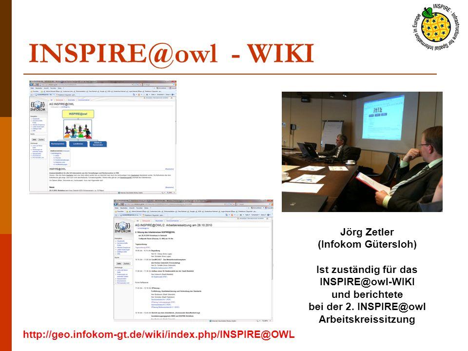 INSPIRE@owl - WIKI Jörg Zetler (Infokom Gütersloh)