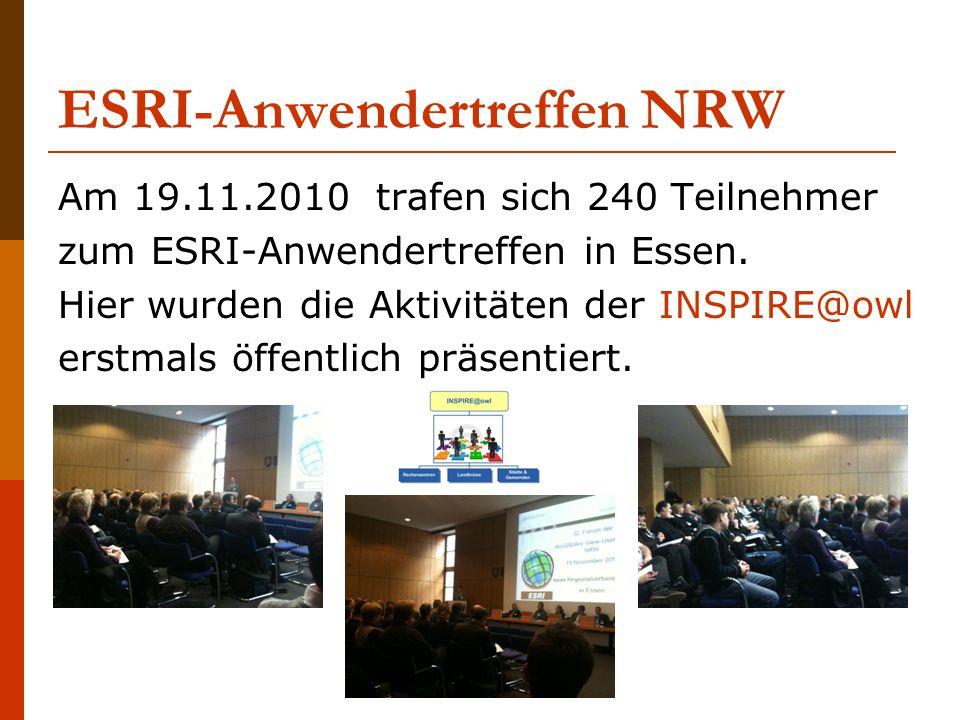 ESRI-Anwendertreffen NRW