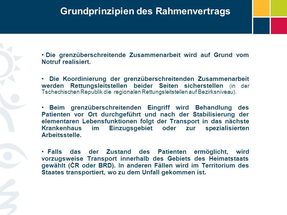Grundprinzipien des Rahmenvertrags