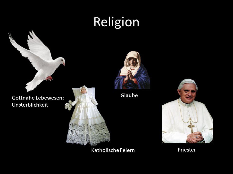 Religion Glaube Gottnahe Lebewesen; Unsterblichkeit Katholische Feiern