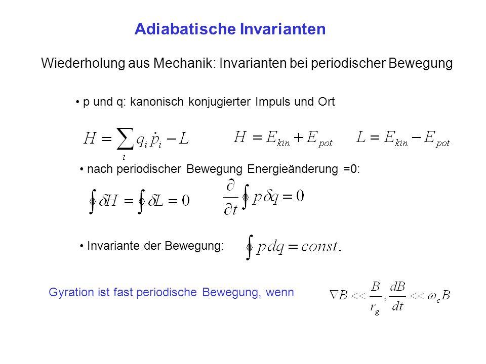 Adiabatische Invarianten