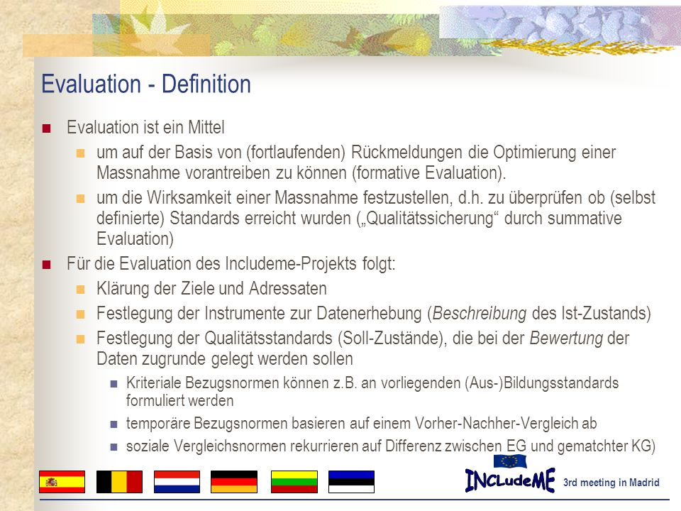 Evaluation - Definition