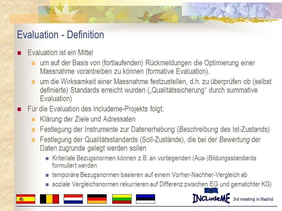 Evaluation - Definition