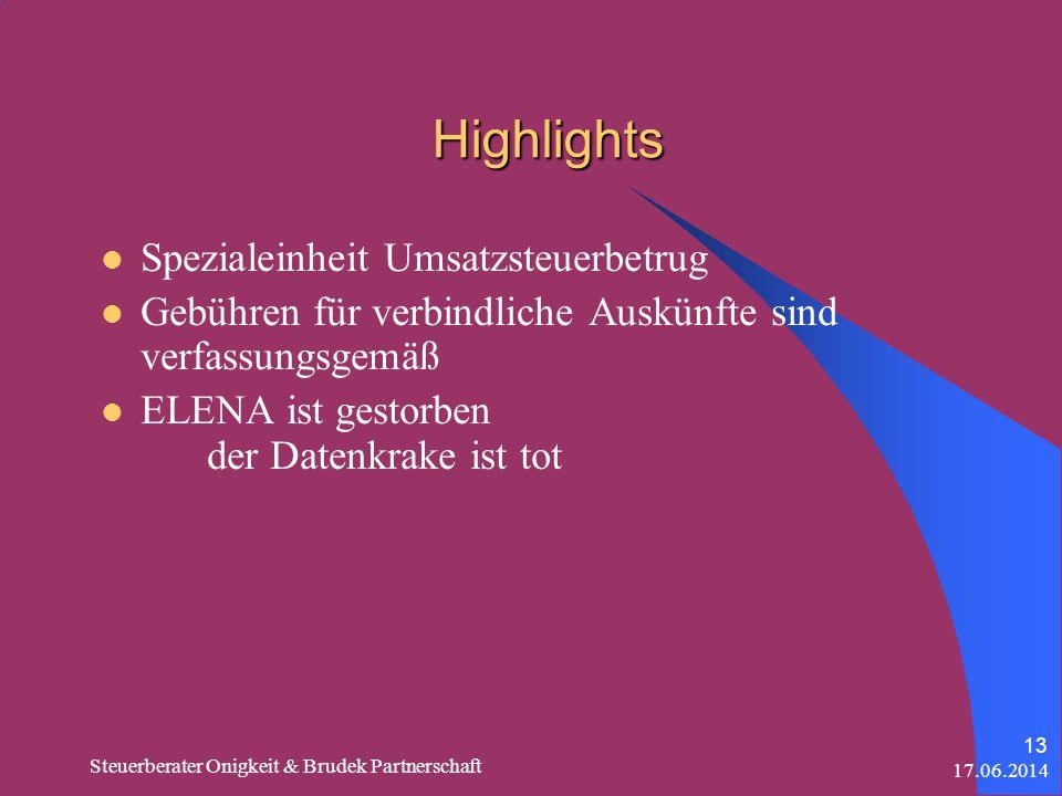 Highlights Spezialeinheit Umsatzsteuerbetrug