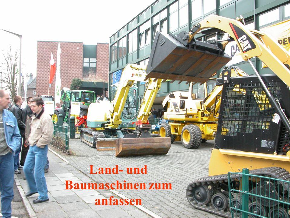 Land- und Baumaschinen zum anfassen