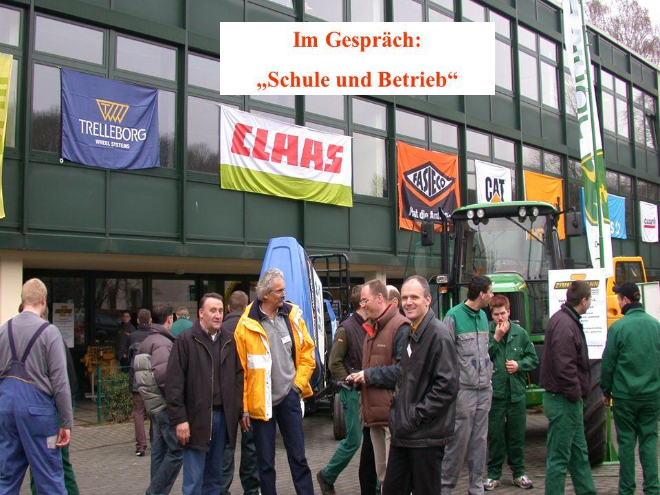 """Im Gespräch: """"Schule und Betrieb"""