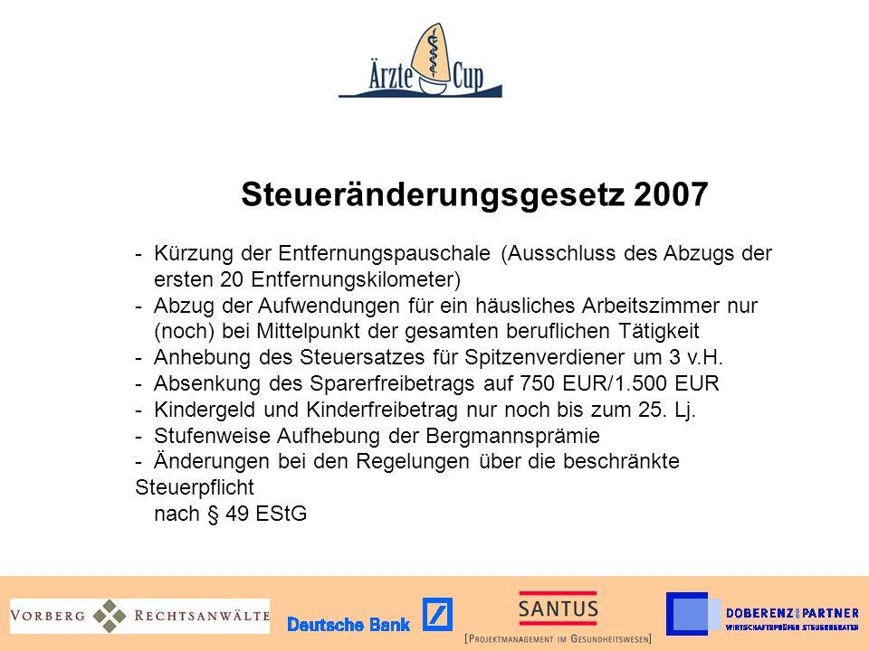 Steueränderungsgesetz 2007 -