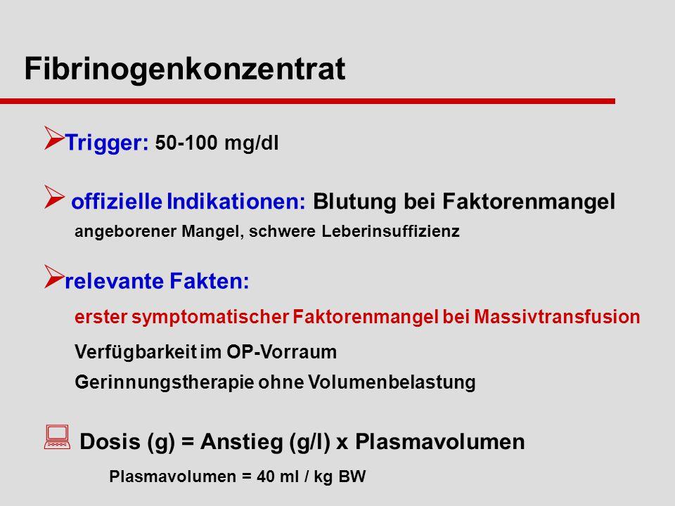 Fibrinogenkonzentrat