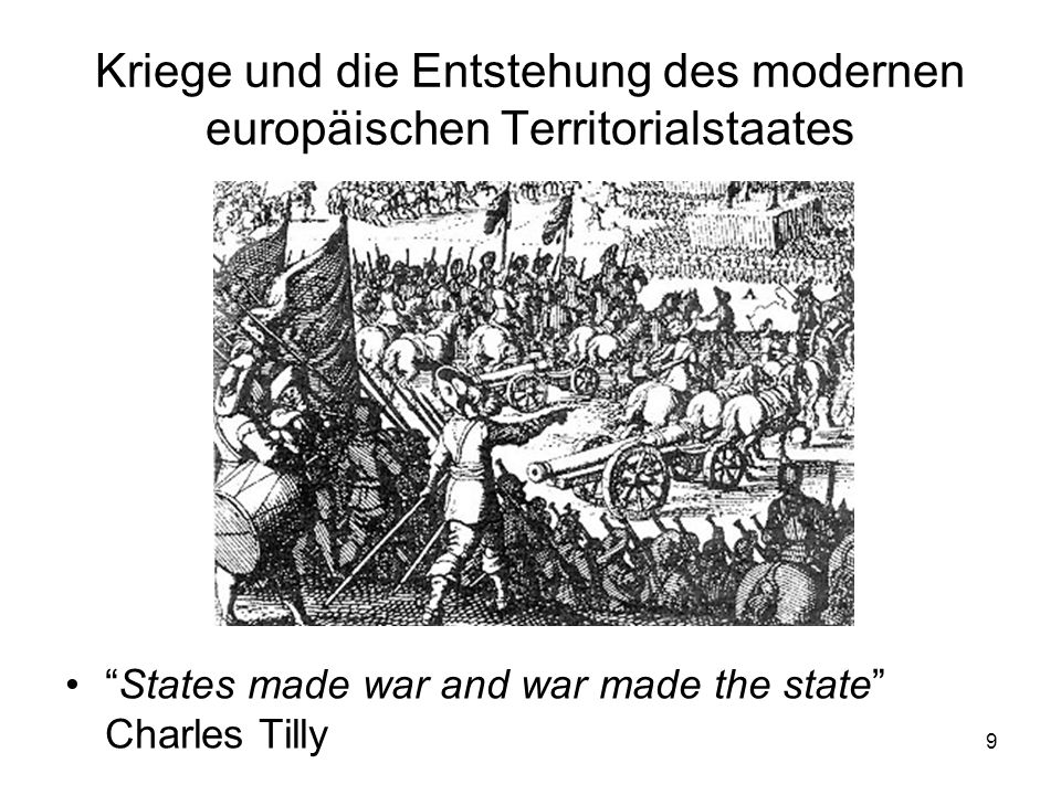 Kriege und die Entstehung des modernen europäischen Territorialstaates