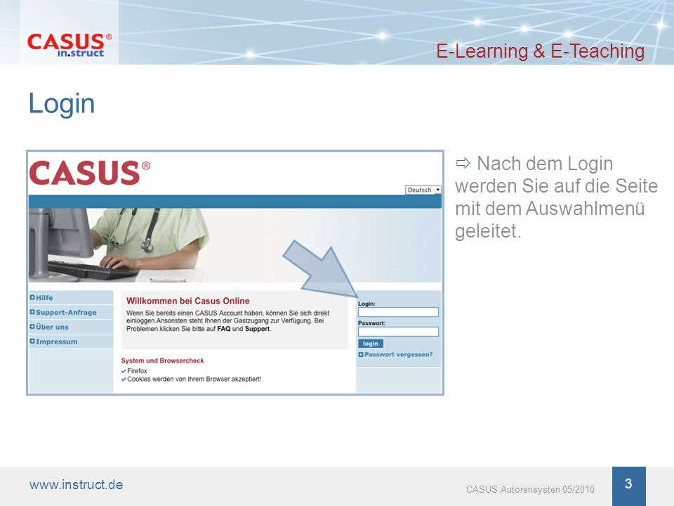 Login E-Learning & E-Teaching