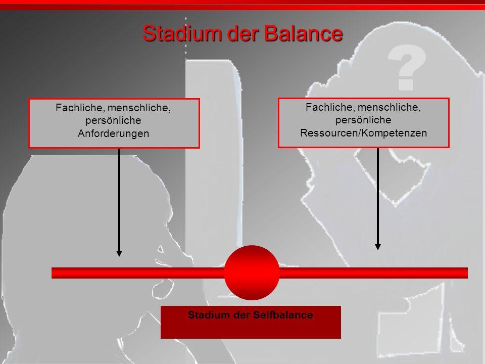 Stadium der Selfbalance