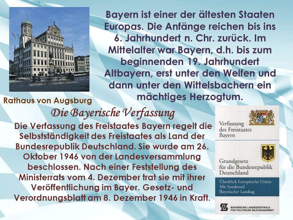 Die Bayerische Verfassung