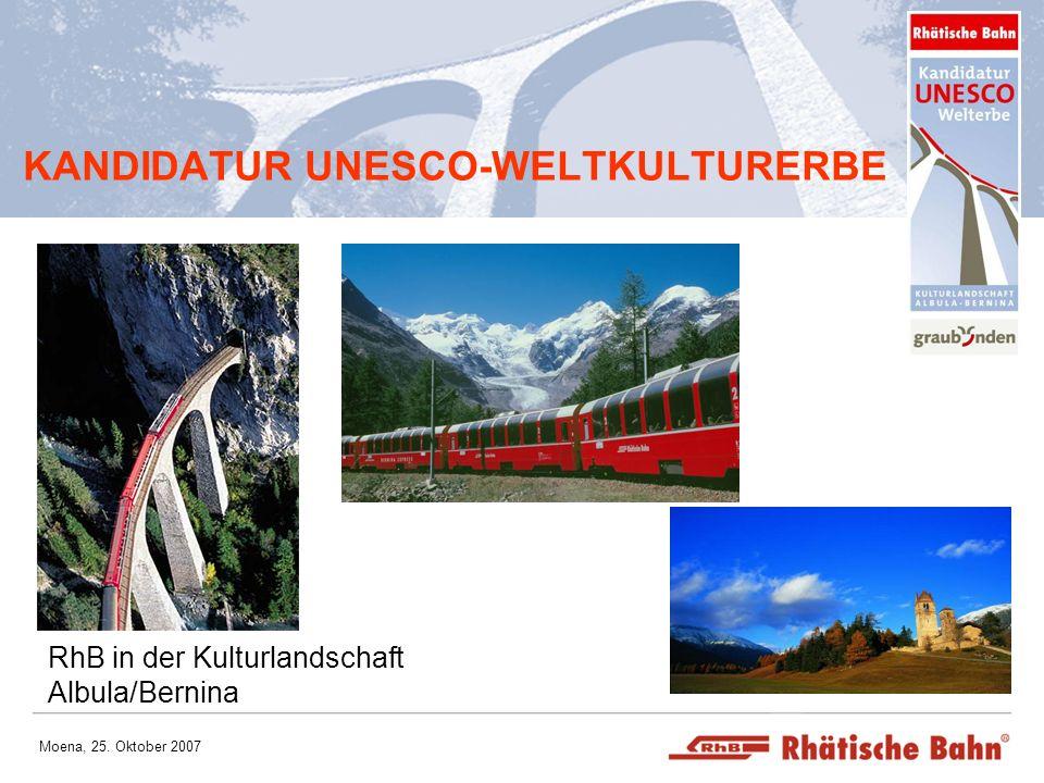 KANDIDATUR UNESCO-WELTKULTURERBE