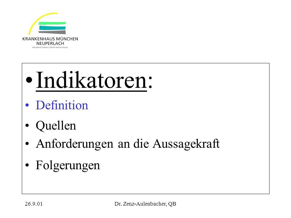 Dr. Zenz-Aulenbacher, QB